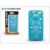 BCN Caseland Apple iPhone 7 Plus/iPhone 8 Plus szilikon hátlap - BCN Caseland Lemons - blue
