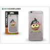 BCN Caseland Apple iPhone 7 Plus/iPhone 8 Plus szilikon hátlap - BCN Caseland Skater Owl - transparent