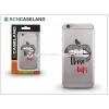 BCN Caseland Apple iPhone 7 Plus szilikon hátlap - BCN Caseland Those Lips - transprarent
