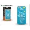 BCN Caseland Apple iPhone 7 szilikon hátlap - BCN Caseland Lemons - blue