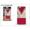 BCN Caseland Apple iPhone 7 szilikon hátlap - BCN Caseland V Neck Rojo - red