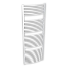 Be4Heat BRH Helidor, íves, fehér, törölközőszárítós radiátor 450x1680, 956 W fűtőtest, radiátor