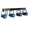 Beamz 4-Some, világítószett, 5 rész, LED