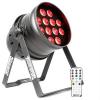 Beamz beamZ BPP220, LED PAR reflektor, 64 12 x 12 W-tos négy az egyben LED dióda, távirányító mellékelve