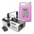 Beamz S1500LED, füstgép + 5 l füstfolyadék, 9 x 3 W RGB LED, 1500 W, DMX