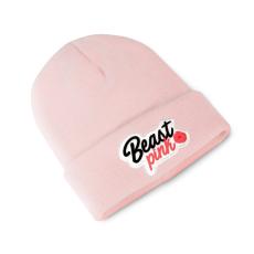BeastPink Zimná čiapka Beanie Baby Pink
