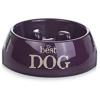 BEEZTEES bestdog kutyatál 22x7,5cm-600mllila