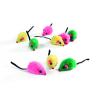 BEEZTEES játék plüss egér színes 5 cm | 9db/cs