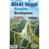- BÉKÉS MEGYE HORGÁSZ, KERÉKPÁROS, LOVAS TÉRKÉPE