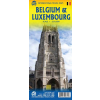 Belgium és Luxemburg térkép - ITM