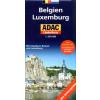 BELGIUM, HOLLANDIAN, LUXEMBURG 1:500 000 /EURÓPAI AUTÓTÉRKÉPEK SOROZAT