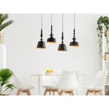 Beliani Elegáns mennyezeti design függőlámpa fekete színben DRIVA világítás