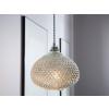 Beliani Elegáns mennyezeti lámpa ezüst MADON