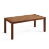 Beliani Étkezoasztal - Tölgyfa asztal - 150 cm - Barna - NATURA