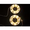 Beliani Fehér fényfüzér - 2 x 120 cm - LED