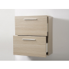 Beliani Fürdoszoba szekrény - Függesztett szekrény - Fali szekrény - Bézs - MURCIA