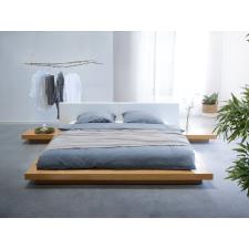 Beliani Japán Stílusú Világosbarna Ágy 180 x 200 cm ZEN ágy és ágykellék