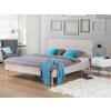 Beliani Kárpitozott ágy - 180x200 cm - Franciaágy - Bézs - RENNES