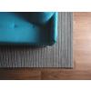 Beliani Klasszikus sötétszürke szőtt szőnyeg 160x230 cm KILIS