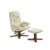 Beliani Masszázsfotel - Irodai szék - Forgószék - Fonöki szék - Bézs bor szék - RelaxPRO