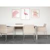 Beliani Modern bézs szék 2 db GOMEZ