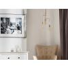 Beliani Trendi és elegáns réz mennyezeti lámpa BOGNA