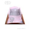 Belisima 3-részes ágyneműgarnitúra Belisima Léggömb 100x135 rózsaszín | Rózsaszín | 100/135 cm