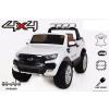 Beneo Elektromos Kisautó Ford Ranger Wildtrak 2 x 12V-4 Kerék Meghajtással-Fehér