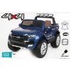 Beneo Elektromos Kisautó Ford Ranger Wildtrak 2 x 12V-4 Kerék Meghajtással-Lakk Kék