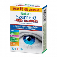 Béres Béres szemerő + dha lágyzselatin komplex kapszula 45 db táplálékkiegészítő