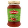 Bertolli Bazsalikom olasz tésztaszósz paradicsommal, extra szűz olívaolajjal és bazsalikommal 383 ml
