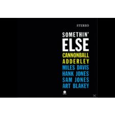 BERTUS HUNGARY KFT. Cannonball Adderley - Somethin Else (Vinyl LP (nagylemez)) jazz