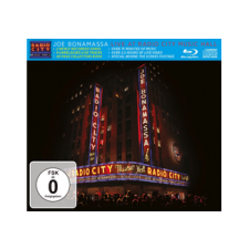 BERTUS HUNGARY KFT. Joe Bonamassa - Live At Radio City Music Hall 2015 (CD + Blu-ray) blues