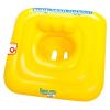Bestway : Felfújható beülős bébi úszógumi - sárga