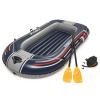 Bestway Hydro-Force kék felfújható csónak evezőkkel és pumpával 61083