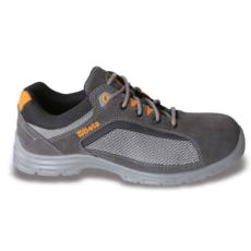 Beta 7213FG/41 perforált hasítottbőr munkavédelmi cipő, jól szellőző mesh betétekkel, 41 méret