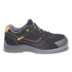 Beta 7214FN/43 action nabuk bőr munkavédelmi cipő, mérsékelten vízálló kopásálló orrvédő betéttel, 43 méret