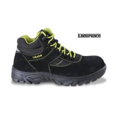 Beta 7238WR/45 hasítottbőr munkavédelmi cipő nylon betétekkel, nagyellenállású gumitalp és gyorskioldás ,vízálló, 45 méret