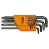 Beta 97RTX/SC8 8 részes hajlított Tamper Resistant Torx® imbuszkulcs szerszám készlet tartóval