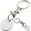 Bevásárlókocsi érme - kulcstartó