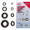 BGS -8112 180 db-os átvezető gumigyűrű készlet