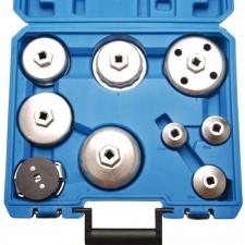 BGS 9 darabos olajszűrő leszedő kupak készlet autójavító eszköz