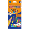 Bic Színesceruza -950522- 12db-os csíkos EVOLUTION STRIPES BIC