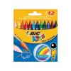 Bic Zsírkréta Kids Wax crayons, 12db