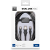 Bigben Dual USB Cable PS4