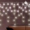 BigBuy Christmas Fehér Karácsonyi Jégcsapok (200 LED)