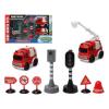 BigBuy Fun Tűzoltó készlet Traffic City 112840 (9 pcs)