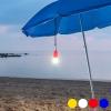 BigBuy Gadget Hordozható Állítható Led Lámpa Zsineggel 144990 Fehér
