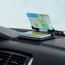 BigBuy Gadget Mobiltartó Tükörrel 145749 Fekete gps kellék