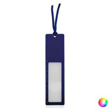 BigBuy Gadget Vonalzó Nagyító (8 Cm) 143728 Kék iskolai kiegészítő